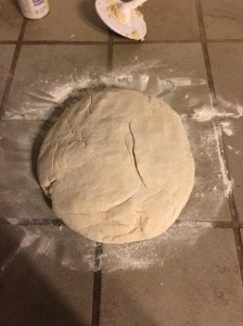 The bread dough!